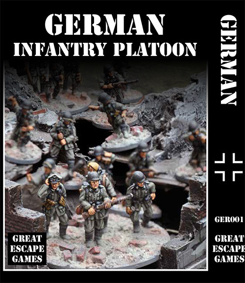 German Platoon - Summer Uniform
