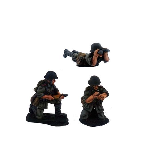 German Anti-tank Gun Crew - Summer Uniform