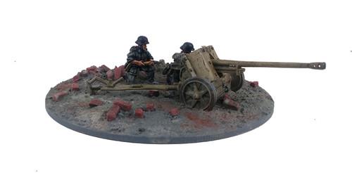 German PaK38 Anti-tank Gun & Crew - Summer Uniform