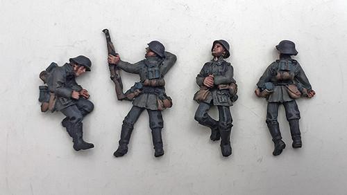 German Casualties - Summer Uniform