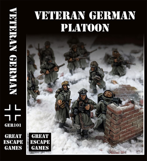 German Stalingrad Veterans Platoon - Winter Uniform