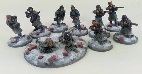 German Stalingrad Veterans Squad A - Winter Uniform