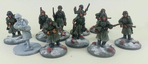German Stalingrad Veterans Squad B - Winter Uniform