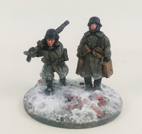 German Stalingrad Veterans PZB-39 Anti-tank Rifle - Winter Uniform