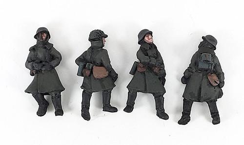 German Casualties - Winter Uniform