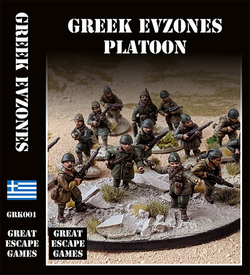 Greek Mountain Infantry Platoon