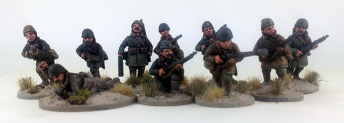 Greek Mountain Infantry Squad B