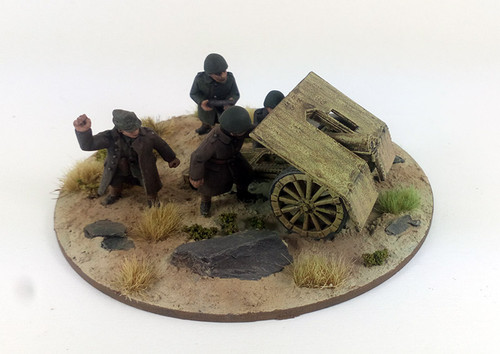 Greek Light Mountain Gun - Skoda M15 75mm