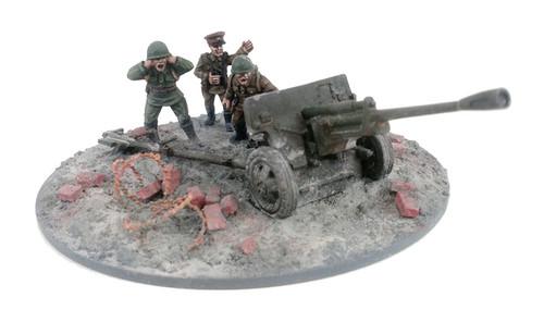 Soviet 76mm ZiS-3 Anti-tank Gun - Summer Uniform