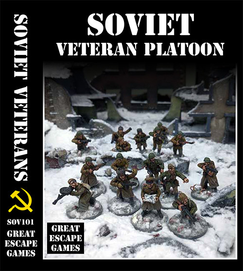 Soviet Platoon - Winter Uniform