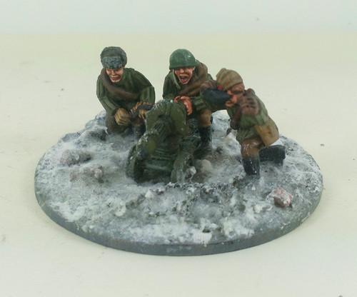 Soviet Maxim HMG - Winter Uniform