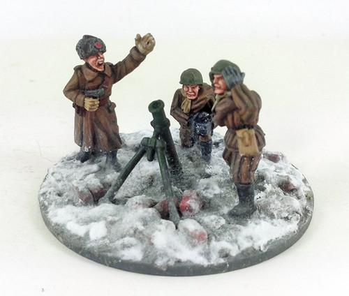 Soviet Mortar - Winter Uniform