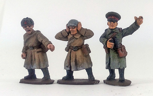 Soviet Anti-tank Gun Crew - Winter Uniform