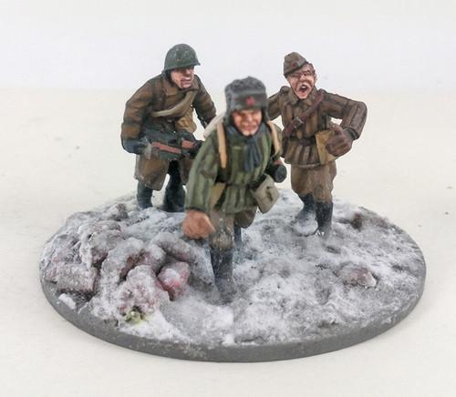 Soviet Anti-tank Rifle - Winter Uniform