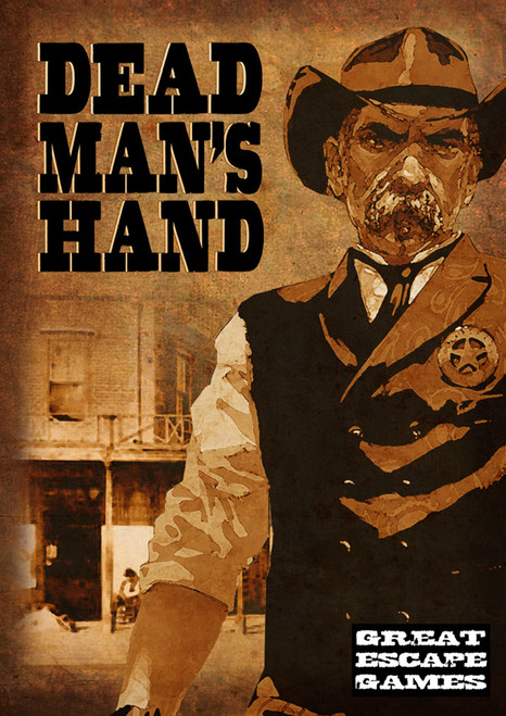 Dead Man's Hand Rule Book with Card Deck & Marker Set