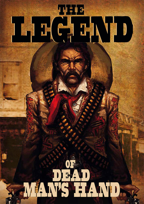 The Legend of Dead Man's Hand Source book & card deck
