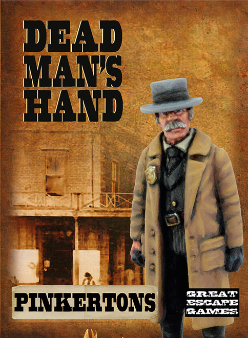 DEAD MAN'S HAND Pinkertons Boxed Gang
