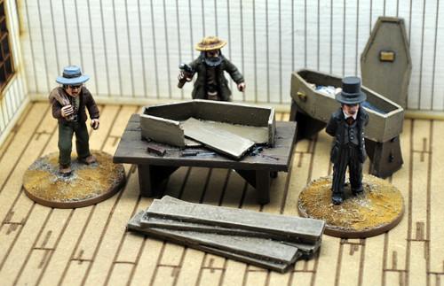 DEAD MAN'S HAND Civilian Undertaker's Civilian Set