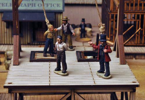 DEAD MAN'S HAND Hangman's Civilian Set