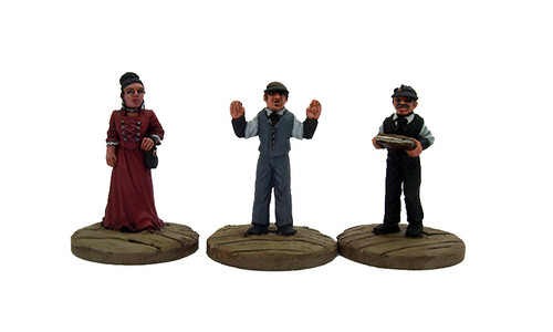 DEAD MAN'S HAND Bank Civilian Set