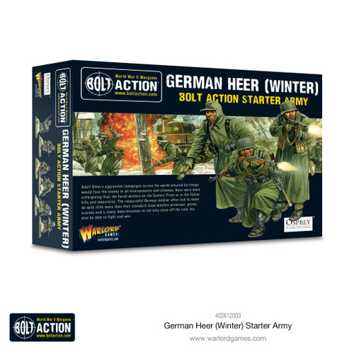 Bolt Action: German Heer Winter Starter Army
