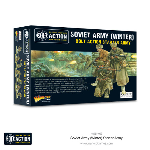 Bolt Action: Soviet Army Winter Starter Army
