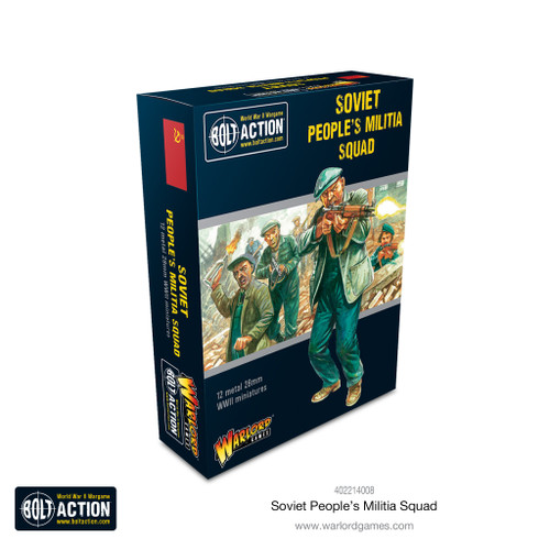 Bolt Action: Soviet Peoples Militia squad