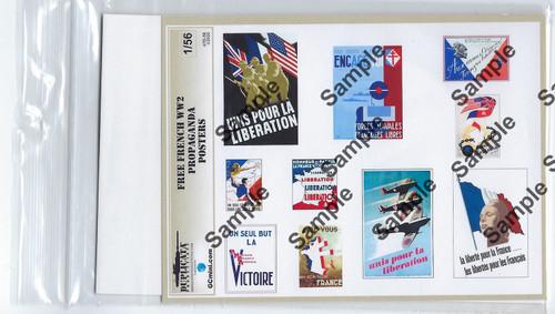 GCmini Scenics:  Free French Propaganda, Various