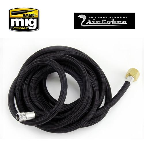"""10 foot braided air hose 1/8"""" X 1/4"""""""