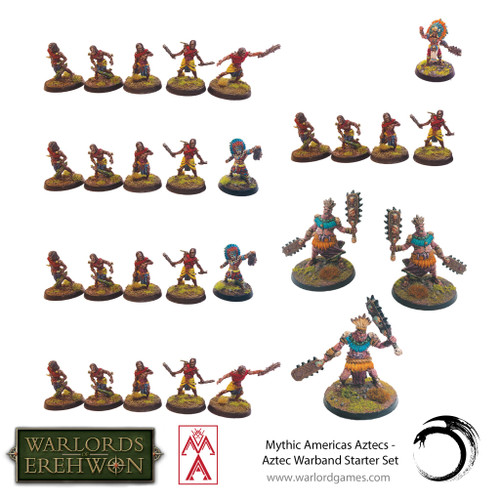 Mythic Americas: Aztec Warband Starter Set