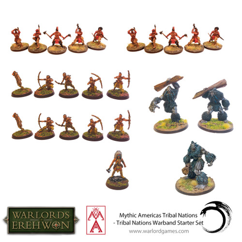 Mythic Americas: Tribal Nations Warband Starter Set
