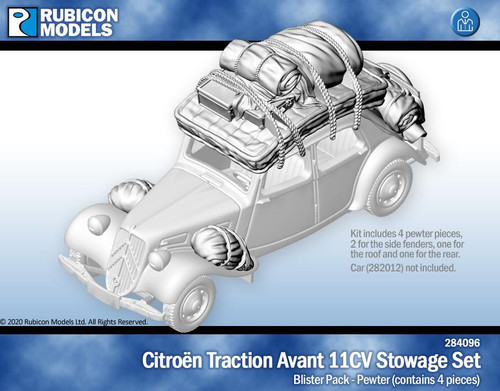 Citroen Traction Avant Stowage Set