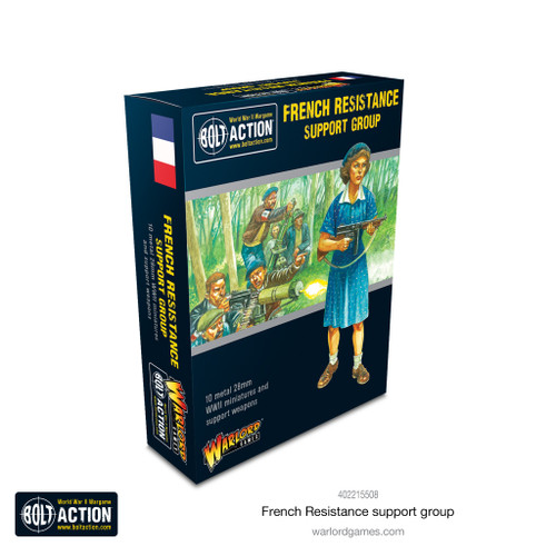 Bolt Action: French Resistance Support Group