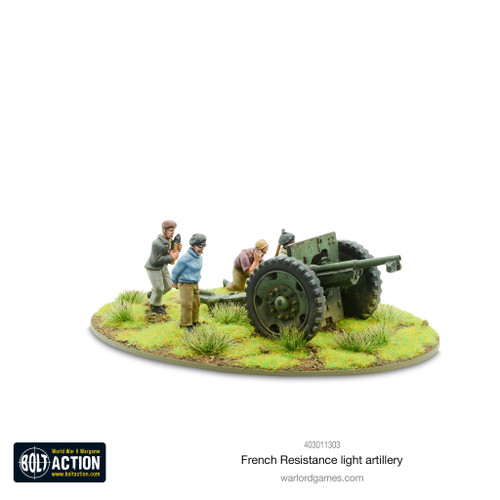 Bolt Action: French Resistance Light Artillery