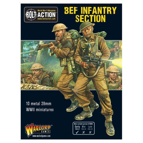 Bolt Action: BEF Infantry Squad