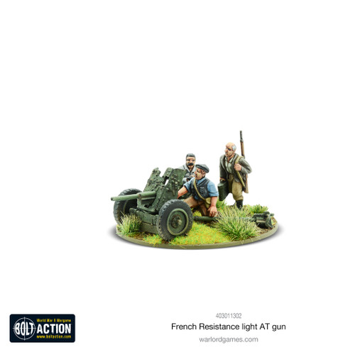 Bolt Action: French Resistance Light Anti Tank Gun
