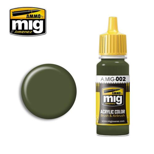 AMMO: Acrylic - RAL 6003 Olivgrun Opt. 2