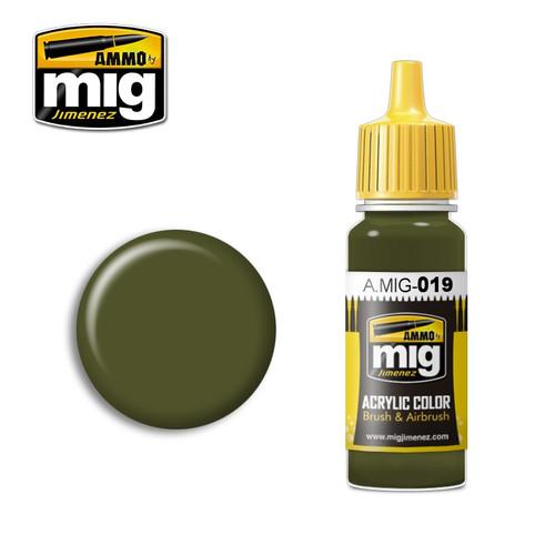 AMMO: Acrylic - 4Bo Russian Green