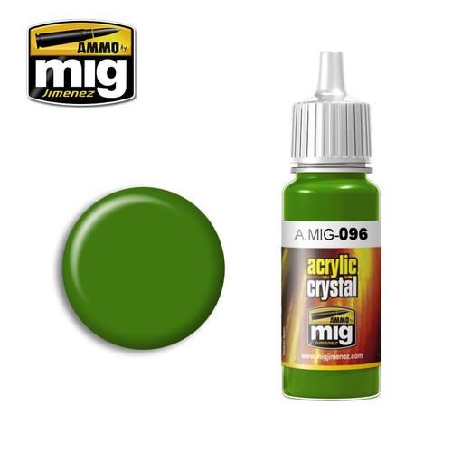 AMMO: Acrylic - Crystal Green Periscope