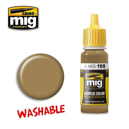 AMMO: Acrylic - Washable Dust (RAL 8000)