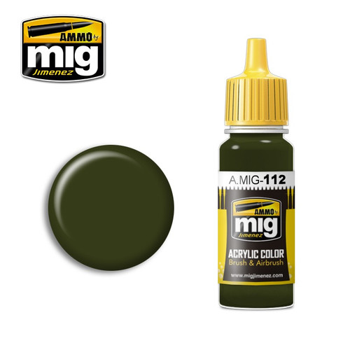 AMMO: Acrylic - Scc 15 (British 1944-45 Olive Drab)