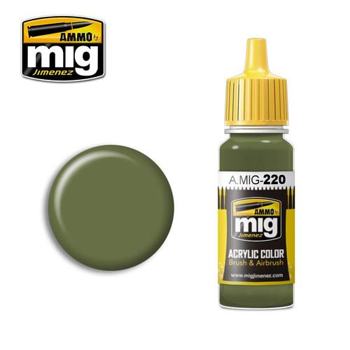 AMMO: Acrylic - FS 34151 Zinc Chromate Green (Interior Green)