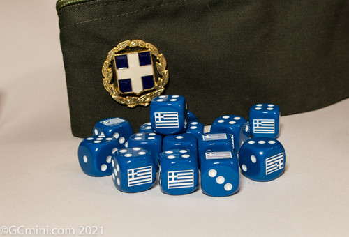 Nation Dice- Greek