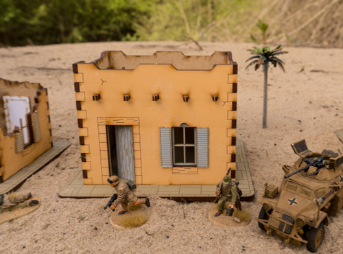 Pre Painted 28mm Middle Eastern Building - 28MPNT090