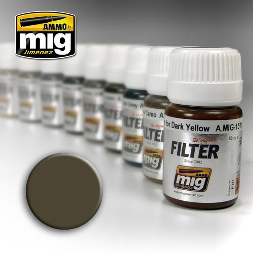 Ammo Filter: Dark Grey For White