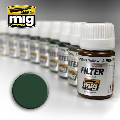 Ammo Filter: Green For Grey Green