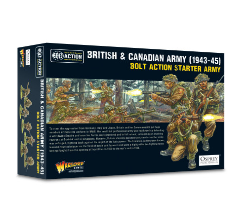 British & Canadian Army (1943-45) Starter Army by Warlord Games