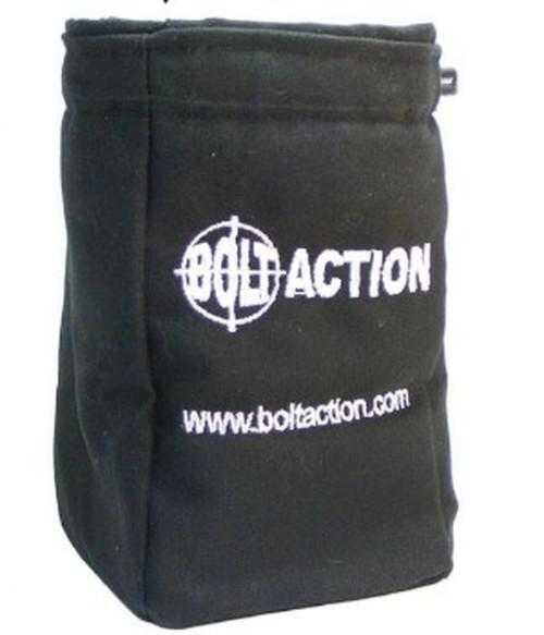 Bolt Action: Dice Bag (Black)