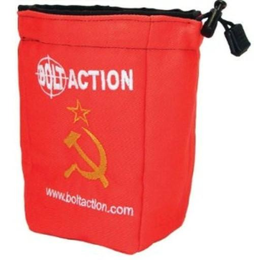 Bolt Action: Soviet Dice Bag (Red)
