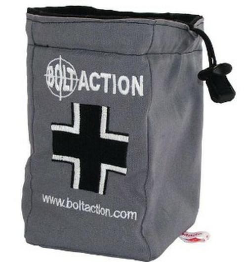 Bolt Action: German Army Dice Bag (Grey)